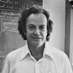 Richard Feynman in 1988.
